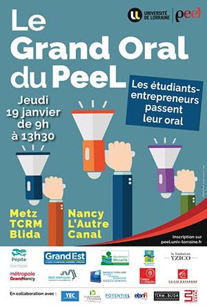 Grand Oral du PeeL le 19 janvier 2017