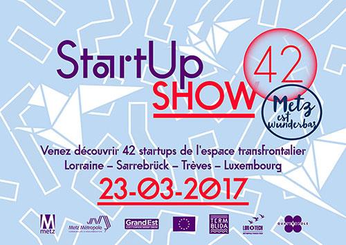 StartUp Show 42 le 23 mars 2017 à TCRM-Blida