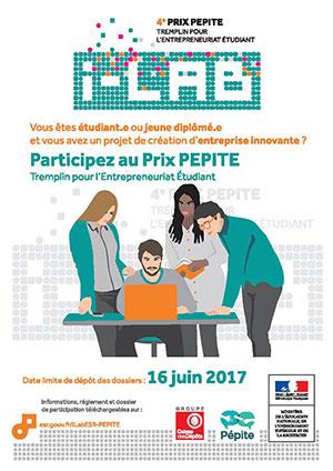 Participe au prix PEPITE 2017 !