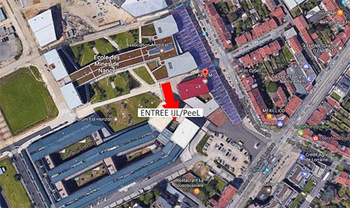 Le PeeL déménage à ARTEM, bâtiment Institut Jean Lamour, 2 allée André Guinier à Nancy